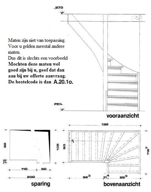 Zeer Trappen Amsterdam. Wij plaatsen ook trappen in Amsterdam. IJ43