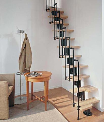 Vaak Ruimtebesparende trappen zijn voor zeer kleine ruimtes #QM97
