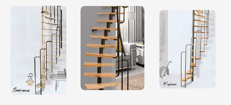 Ruimtebesparende trappen zijn voor zeer kleine ruimtes - Outs kleine ruimte ...